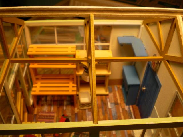 Modell-Gewächshaus von DIY HOUSE Sany1247