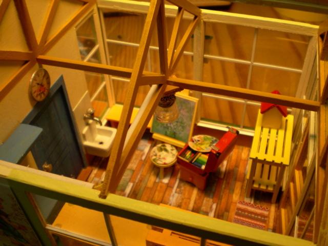 Modell-Gewächshaus von DIY HOUSE Sany1248