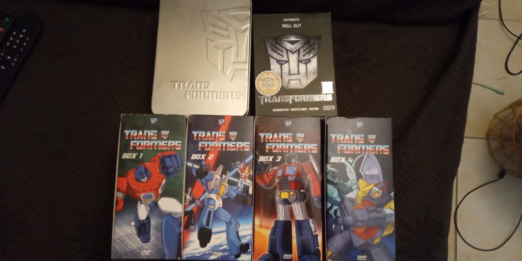 DVD, Blu-ray & 4K Ultra HD… des Épisodes de… Les Transformers (G1) ― En Anglais - Page 3 Img_2029