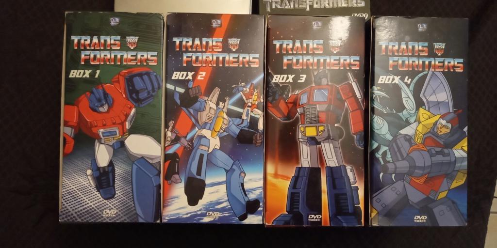 DVD, Blu-ray & 4K Ultra HD… des Épisodes de… Les Transformers (G1) ― En Anglais - Page 3 Img_2030