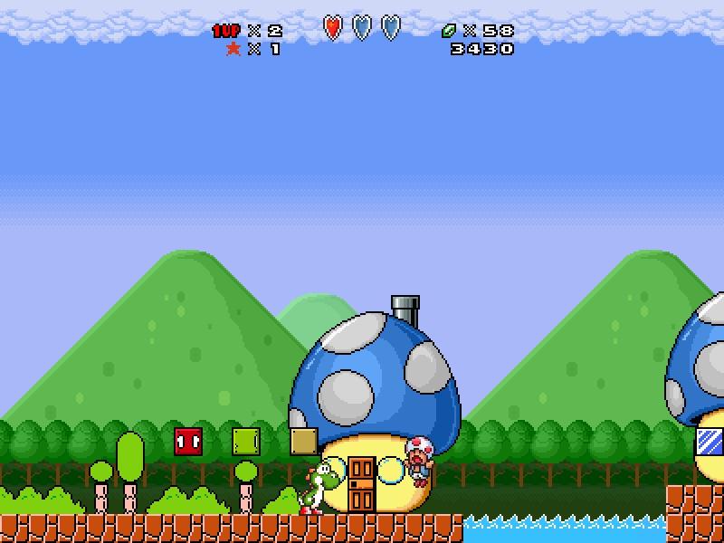 [abandon]Super Mario All Star Nouvelle demo! Screen24