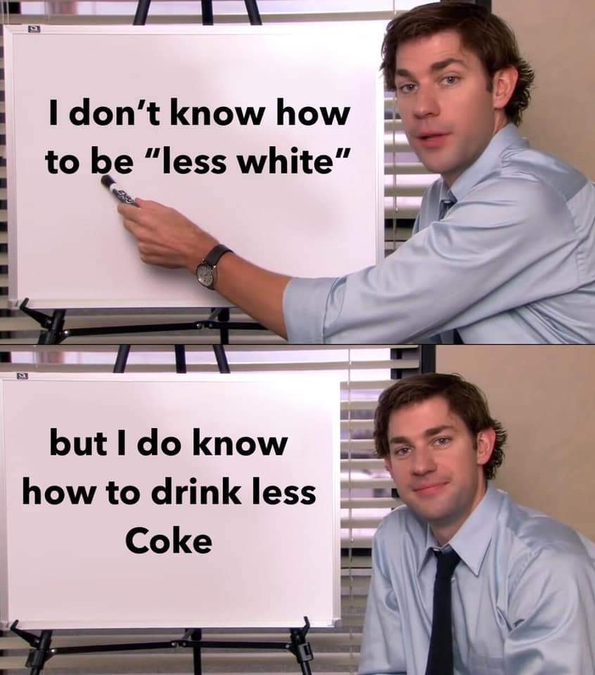 "Coca cola training program says ""be less white"" Fb_im158"