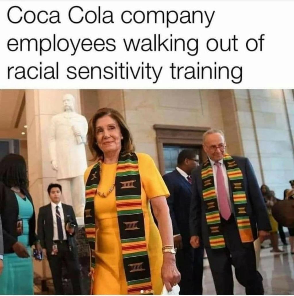 "Coca cola training program says ""be less white"" Fb_im159"