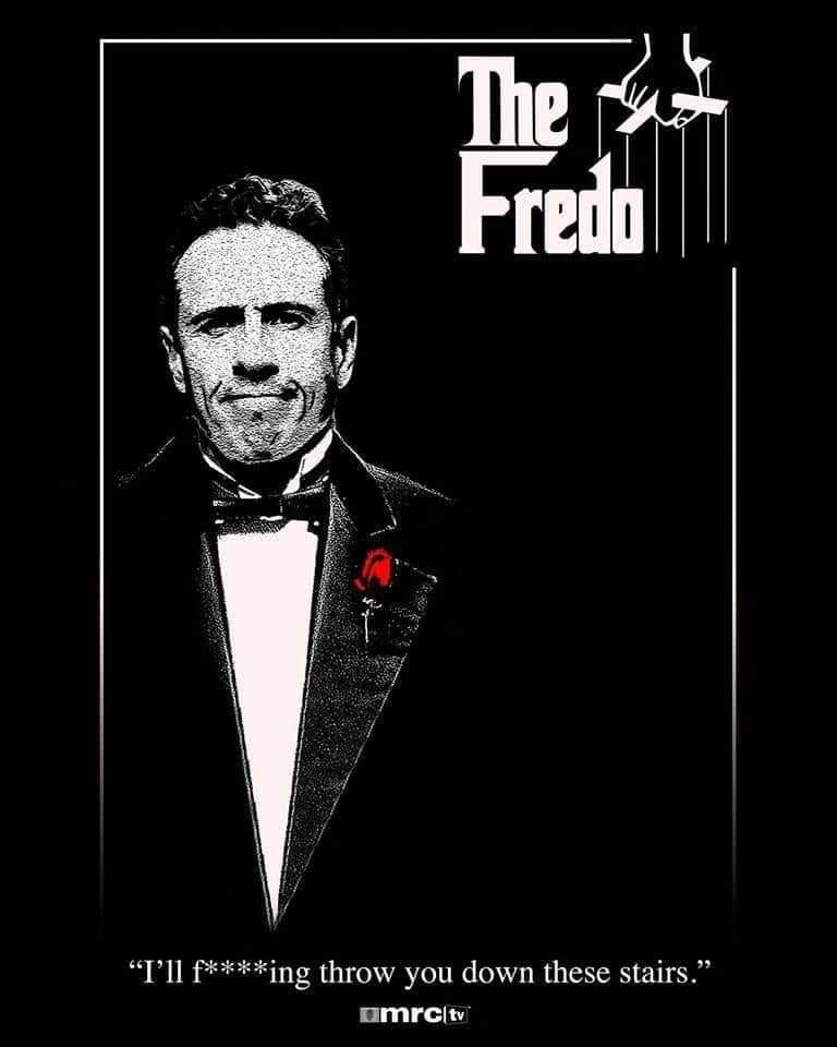 Apparantly the Name Fredo is equivalent and racist as the N word Fredo10