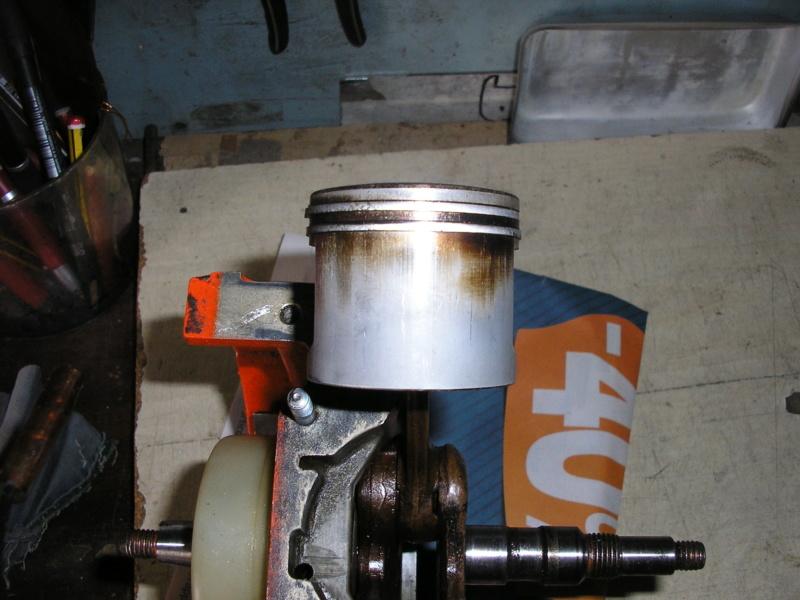 Echo CS452VL apertura blocco P1010814
