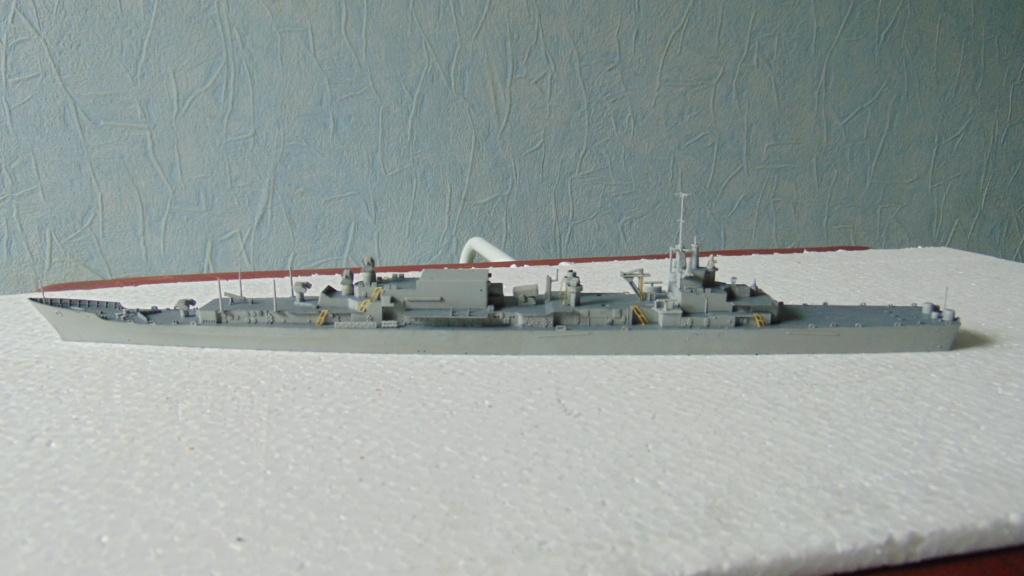 uss Long Beach CGN-9 1/700 dragon 00111