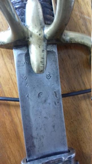 Identification sabre cavalerie légère an IX ou an XI 20200513