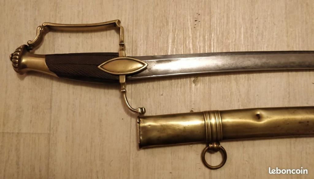 Sabre d'officier de cavalerie légère 1800 Poignz13