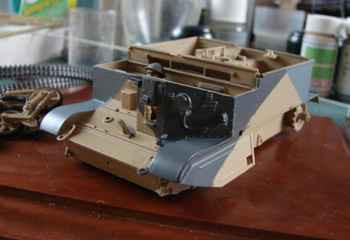 "Universal ""BREN"" Carrier MkII - 6th Australian Cavalry Division [Tamiya - 1/35] - Page 3 Dsc06923"
