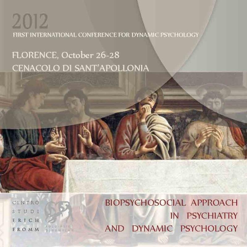 FIRST INTERNATIONAL CONFERENCE PYSCHODYNAMIC PSYCHOLOGY First_10