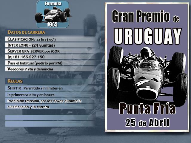 Torneo F1 1965 - 2019 - Punta Fría F1_65_14