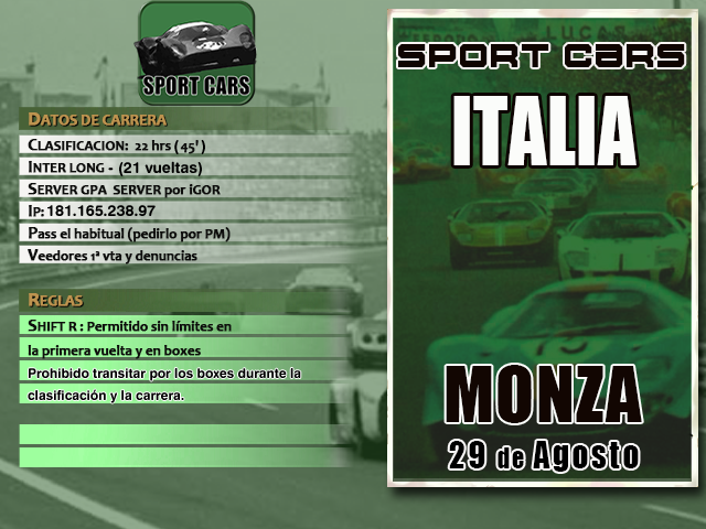 Torneo Sport Cars Extra 1967 - Monza Sc_2_m10