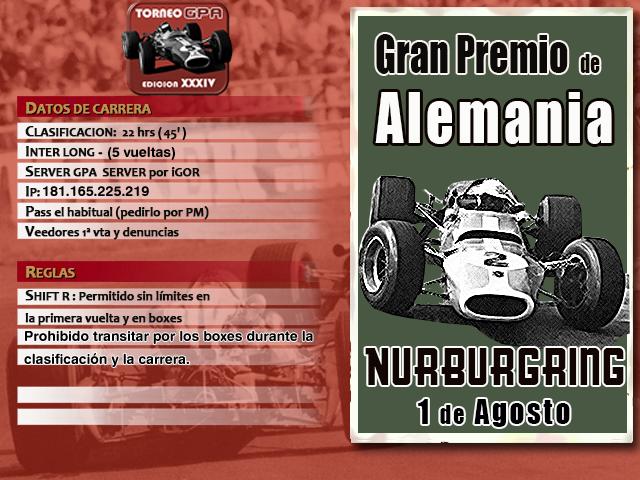 Torneo Edicion XXXIV - Nurburgring Xxxiv_20