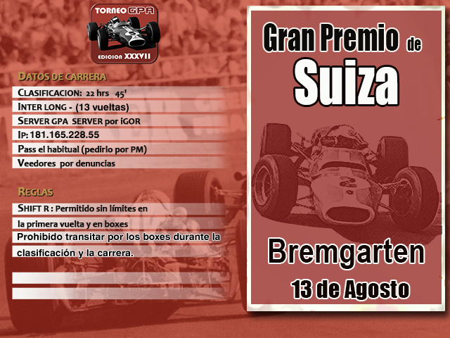 Torneo Edicion XXXVII -  Bremgarten Xxxvii12
