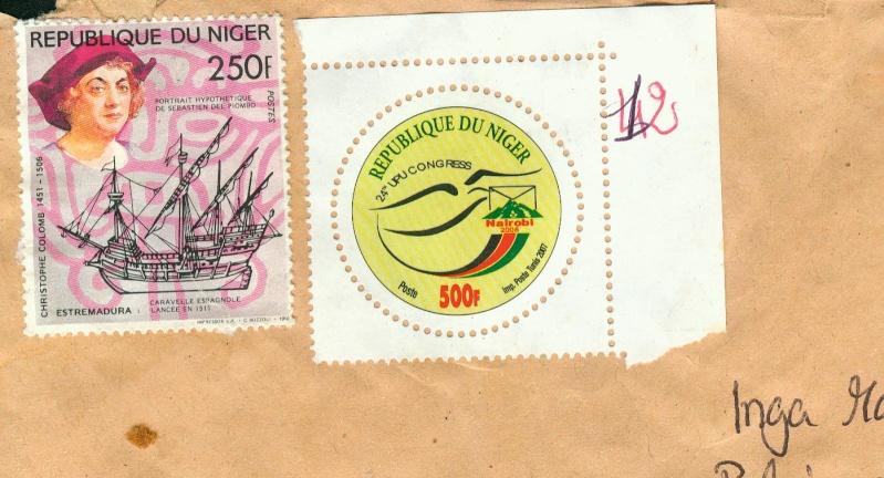 Runde Briefmarken Nigeri10