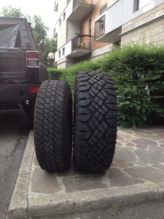 Rubicon Unlimited Crome Line  Gomme10