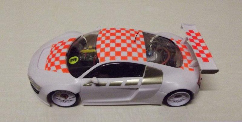 """Audi R8  """" Damier """". Dscf0813"""