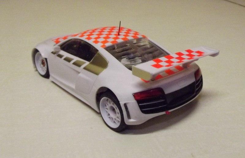 """Audi R8  """" Damier """". Dscf0814"""