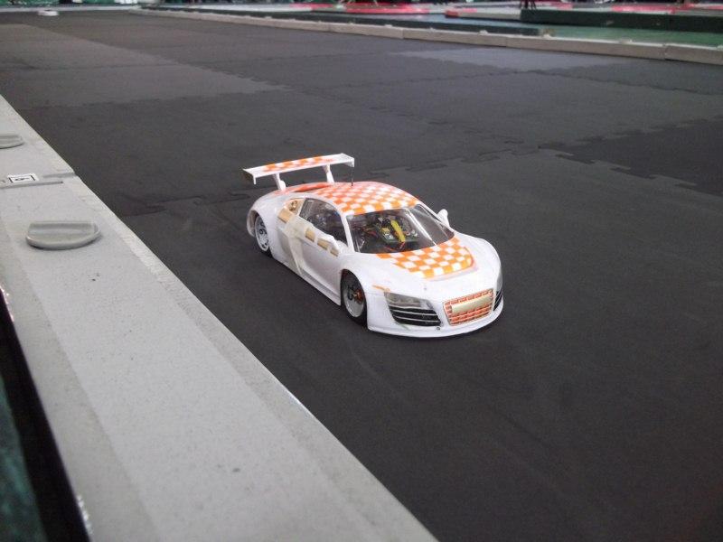 """Audi R8  """" Damier """". Dscf1410"""