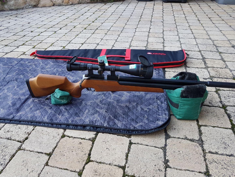 aide pour carabine pcp -20j multi-coup 19083011