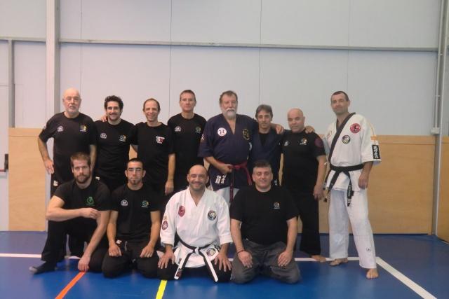 Niveau 4 de Kyusho-Jitsu à Palamos (Espagne) Cimg9610