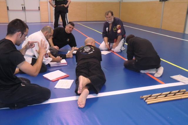 Niveau 4 de Kyusho-Jitsu à Palamos (Espagne) Cimg9613