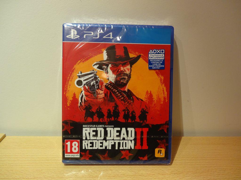 [VDS] Red DeadRedeption 2 PS4 Neuf sous blister : 40€ Dsc05310