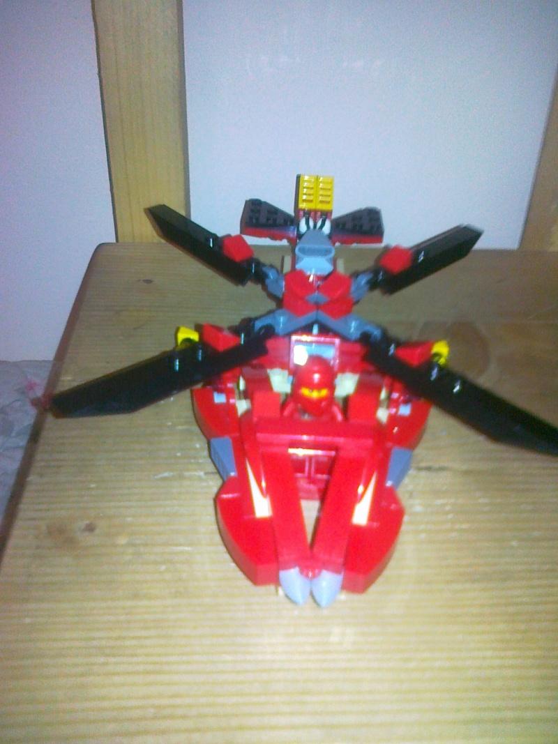 Moja verzija Ninjago seta Rattlecoptera 9443 11062014