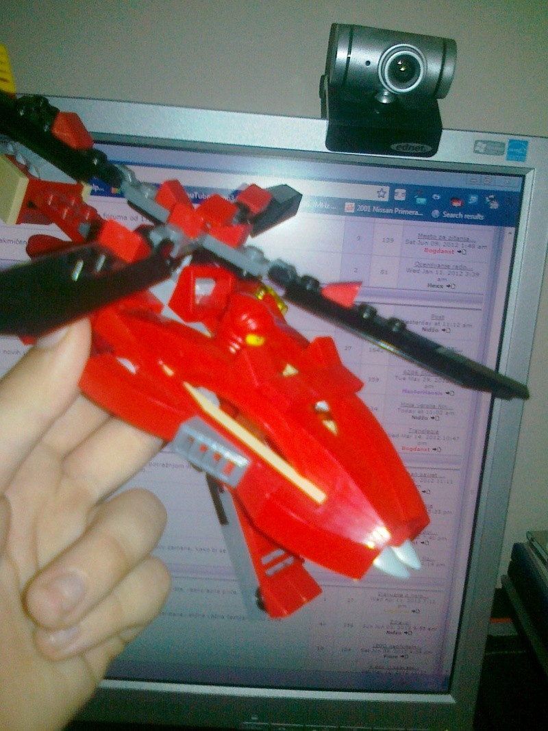 Moja verzija Ninjago seta Rattlecoptera 9443 13062010