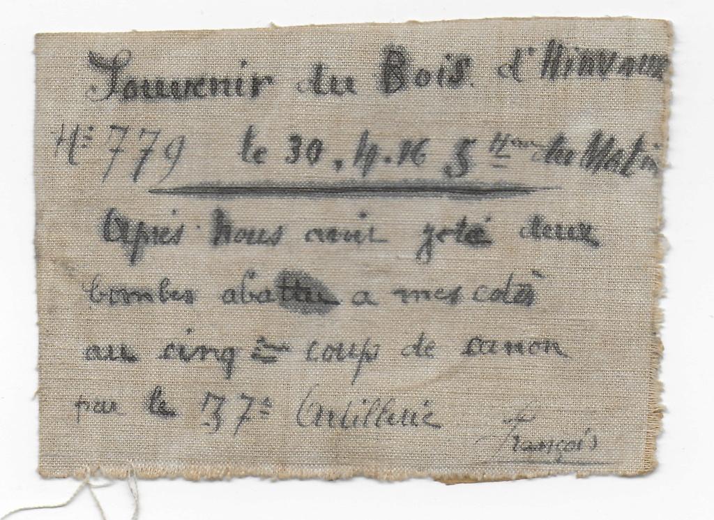 Trouvailles de la première brocante nivernaise :morceau d'entoilage d'avion etc. Entoil13