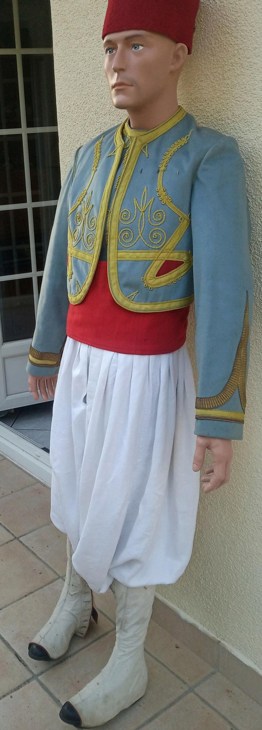 Mon premier mannequin :Sous-officier indigène de Tirailleurs Algériens vers 1910 Img_2645