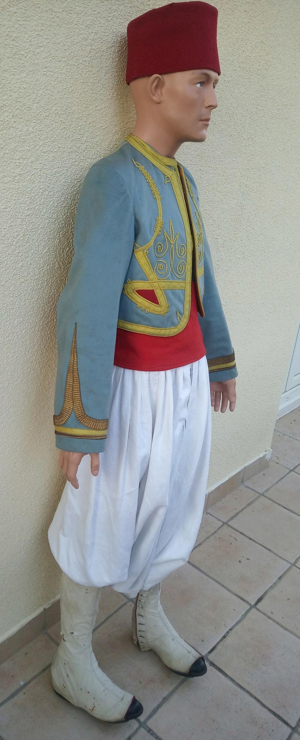 Mon premier mannequin :Sous-officier indigène de Tirailleurs Algériens vers 1910 Img_2646