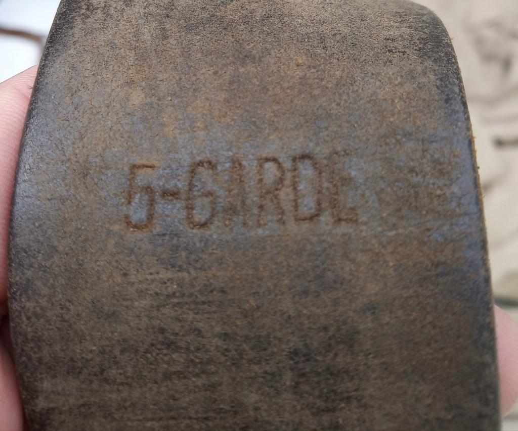 Ceinturon 1903 régimenté 5ème garde  Img_2662
