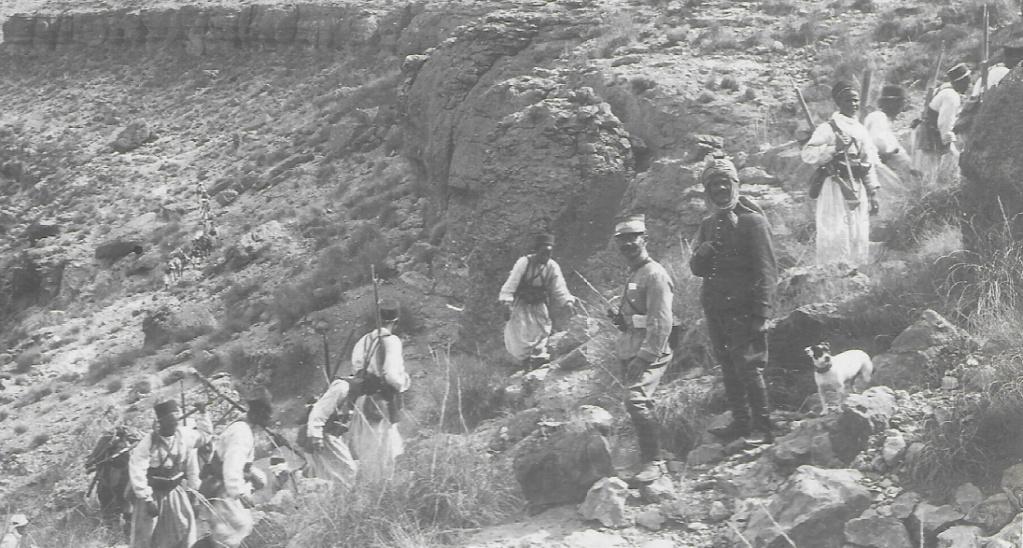 Un groupe franc au Maroc vers 1910-1911 Maroc_10