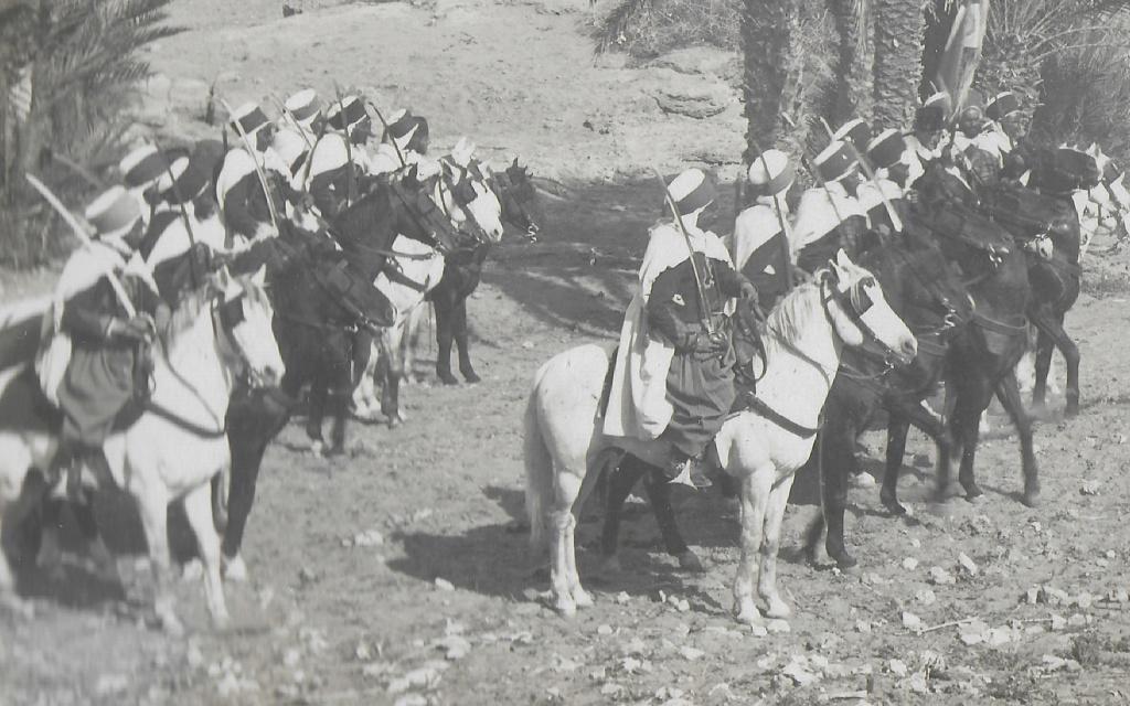 Un groupe franc au Maroc vers 1910-1911 Maroc_17
