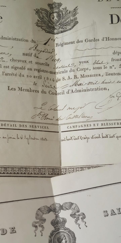 Photo dédicacée du Maréchal DE CASTELLANE, un  vétéran de l'Empire... Screen13