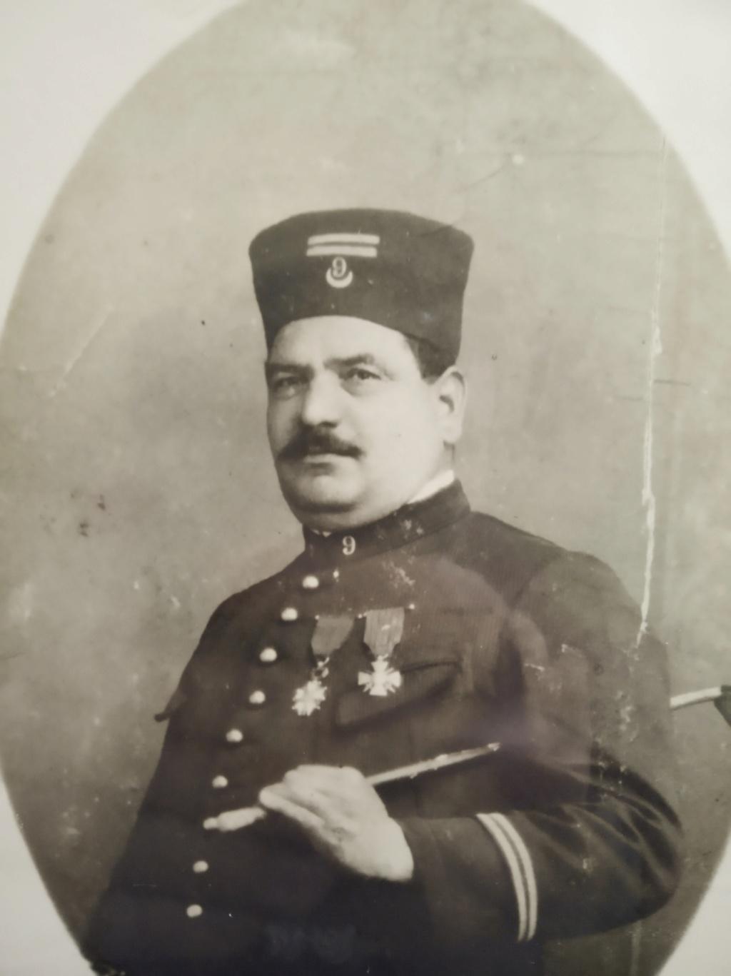 Mon premier mannequin :Sous-officier indigène de Tirailleurs Algériens vers 1910 Sliman10