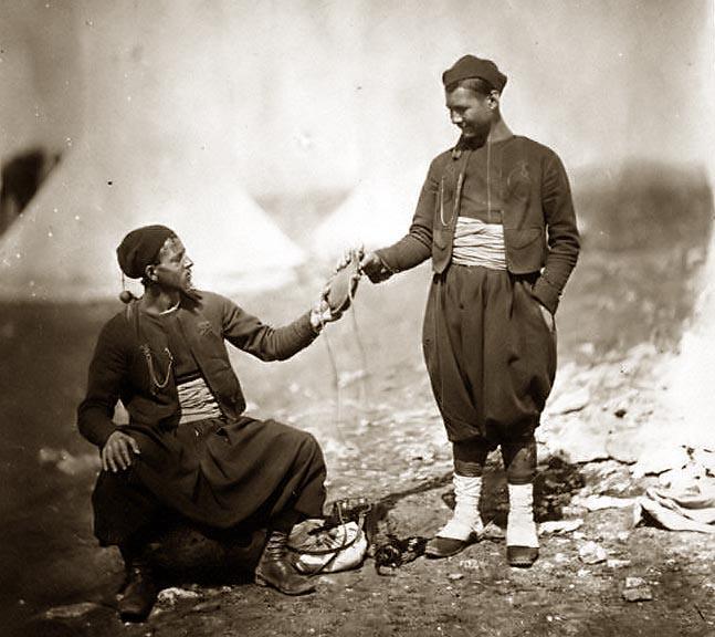 Mon premier mannequin :Sous-officier indigène de Tirailleurs Algériens vers 1910 Zouave10