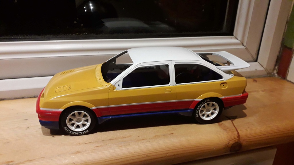1/18 Russell Brooks - Ford Sierra Cosworth - Rally of the Lakes 1989  20191210