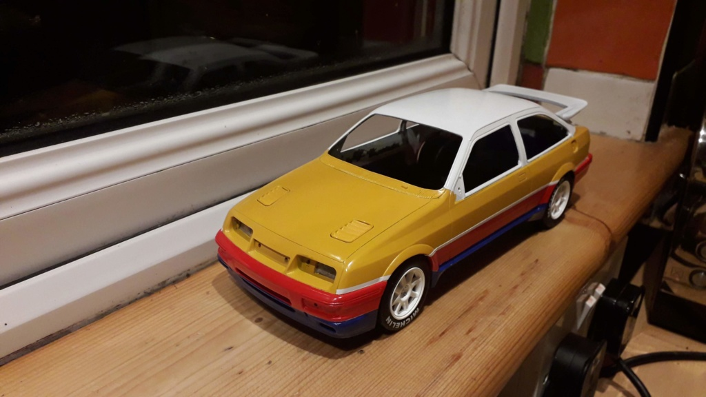 1/18 Russell Brooks - Ford Sierra Cosworth - Rally of the Lakes 1989  20191211