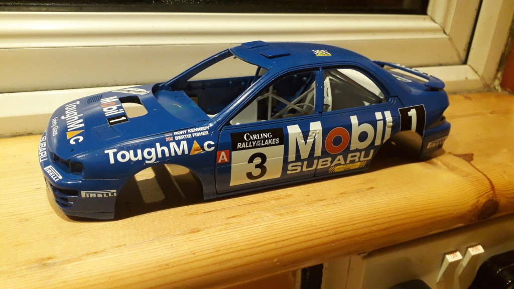 1/18 Bertie Fisher - Subaru Impreza - Rally of the Lakes 1994 20191212