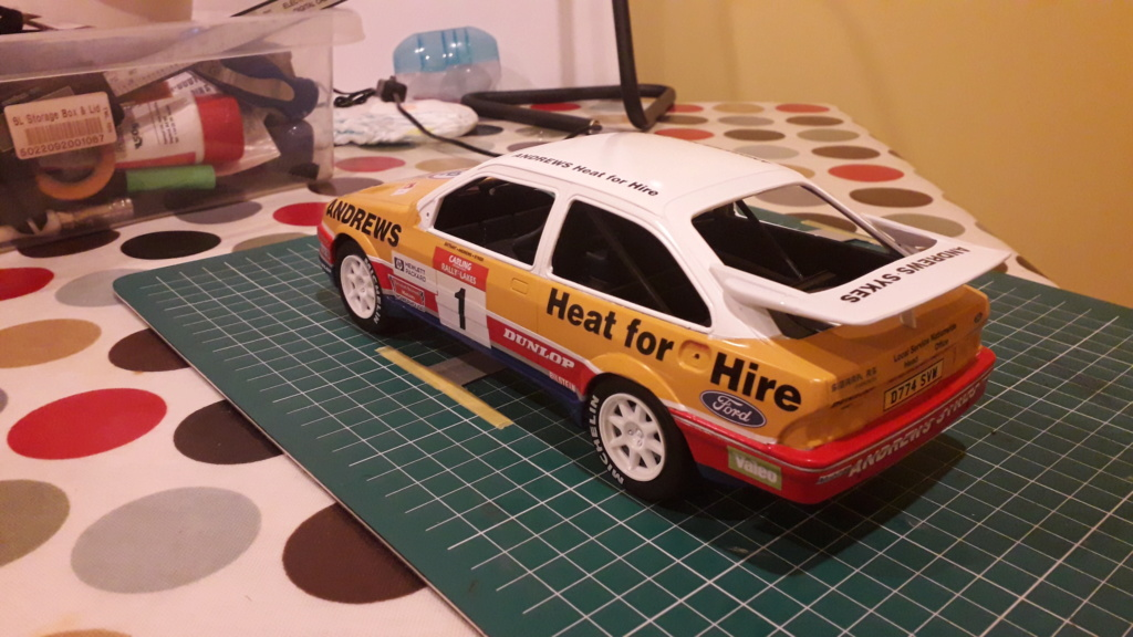 1/18 Russell Brooks - Ford Sierra Cosworth - Rally of the Lakes 1989  20200310
