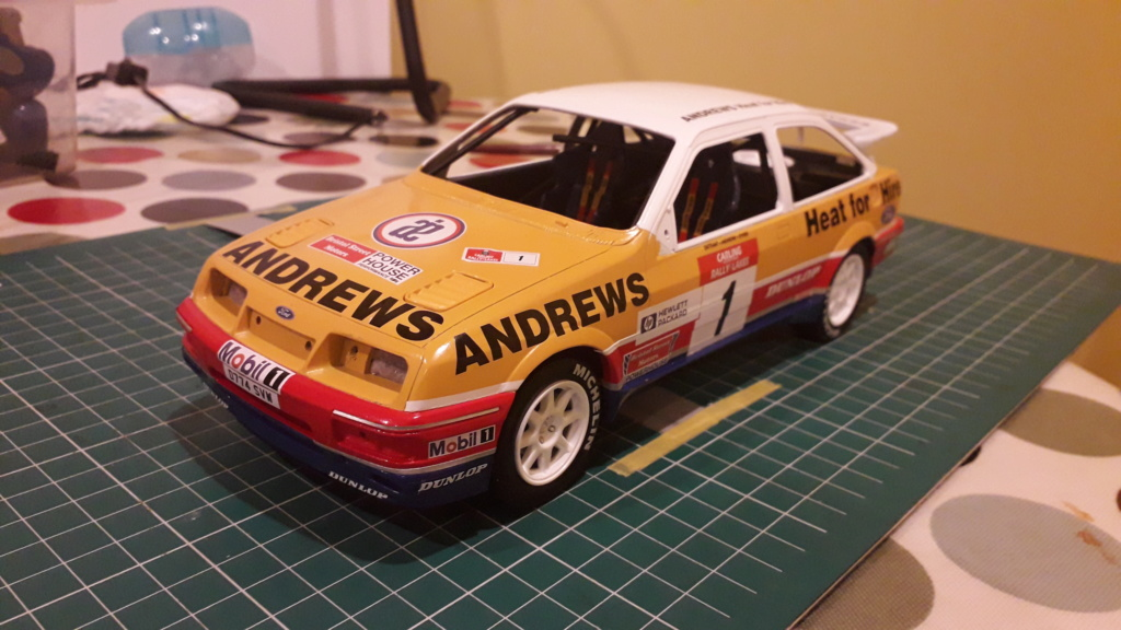 1/18 Russell Brooks - Ford Sierra Cosworth - Rally of the Lakes 1989  20200311