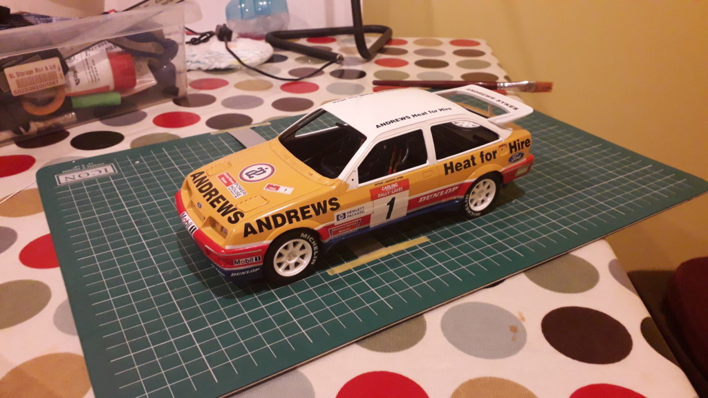 1/18 Russell Brooks - Ford Sierra Cosworth - Rally of the Lakes 1989  20200312