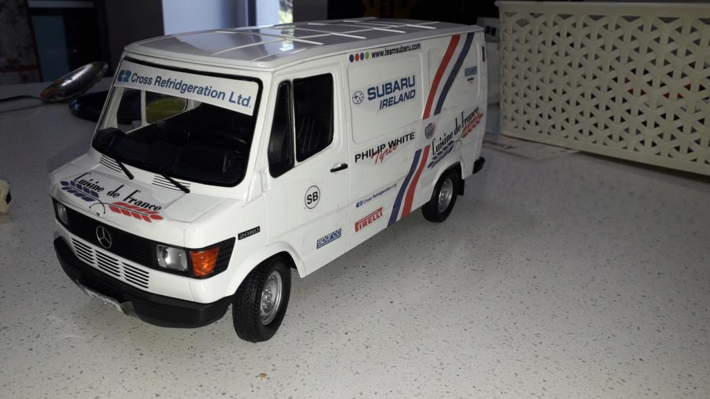 1/18 Service Van 20210810