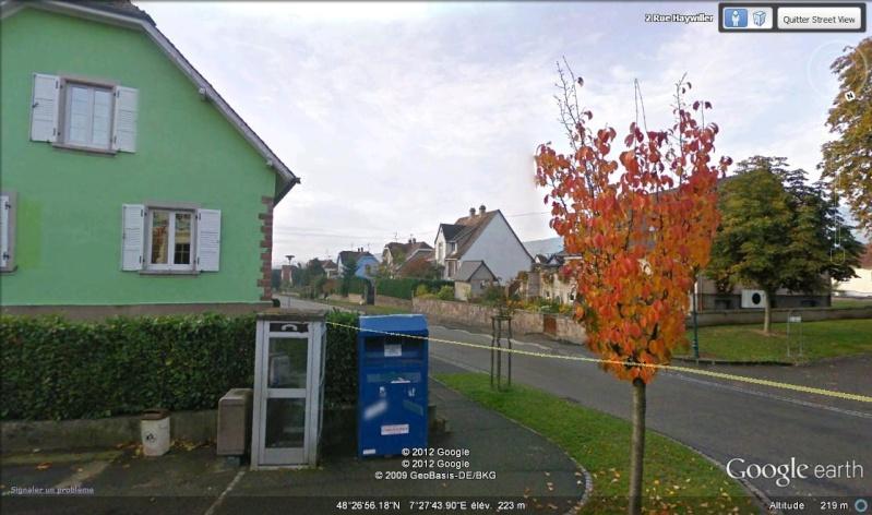 STREET VIEW : Les cabines téléphoniques 33310