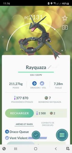 Pokémon et son univers [Nintendo] - Page 33 Rayqua10