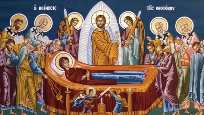 Παρακλητικός Κανών είς την Κοίμησιν της Υπεραγίας Δεσποίνης ημών Θεοτόκου και Αειπαρθένου Μαρίας A_a_co10