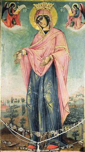 Παρακλητικός Κανών εις την Υπεραγίαν Θεοτόκον Γερόντισσας Κάτω Παναγιάς Άρτας Aaaa12