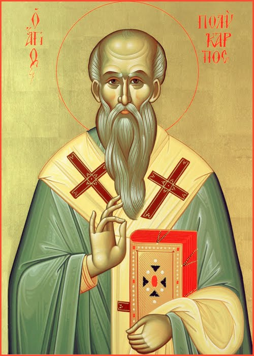 Παρακλητικός Κανών εις τον Άγιο Πολύκαρπο Επίσκοπο Σμύρνης Aaaaa10
